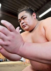 大相撲舞蹴「まずは幕下」上昇誓う