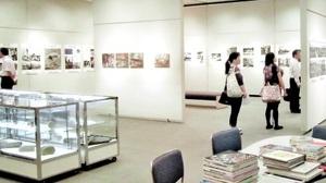 2013年に東京都文京区で開かれた長崎市の原爆展(同市提供)