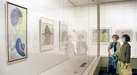 ちひろ作品丹念に模写 越前市で馬田さん個展