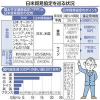 関税下がり消費者は恩恵も 日米貿易協定で米国産安く 目で見る経済