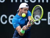 テニス、ベレッティーニが優勝