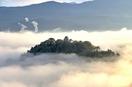 天空の大野城、今季初出現に歓喜