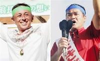 沖縄知事選情勢調査 玉城、佐喜真両氏が互角