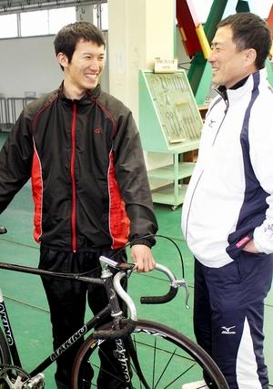 兄と五輪へ、背中追い競輪の世界