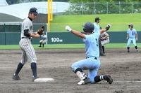 【写真特集】高校野球・敦賀気比―啓新