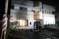 坂井市丸岡町で火事、1人死亡