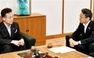 杉本達治知事、関電社長と初面談