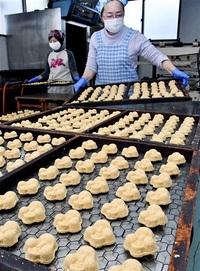 福を呼ぶ 豆らくがん 敦賀の伝統菓子 節分前に製造ピーク