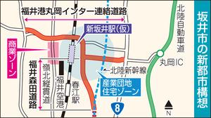 福井県坂井市の新都市構想