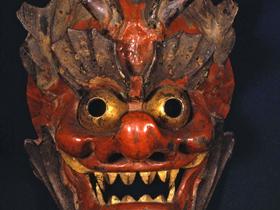 鎌倉時代の作といわれる貴重な面を所蔵