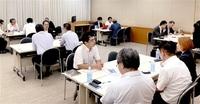 プロ人材の獲得へ 大企業と意見交換 県内企業 こちら東京