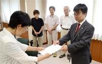 議会陳情扱い「改善を」 県会、福井市会に要請書 市民オンブズ