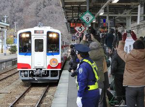 三陸鉄道リアス線が開通