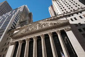 ニューヨーク証券取引所=2016年12月(AP=共同)