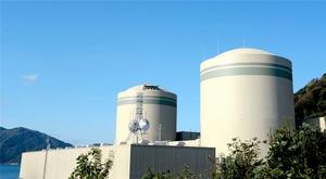 関西電力高浜原発1号機(手前)と2号機=福井県高浜町田ノ浦
