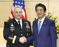 首相、米軍制服組トップと会談