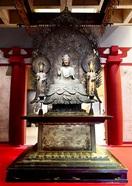 """法隆寺釈迦三尊像 """"令和の仏""""お墨付き 甦る世…"""