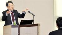 「勉強、経験 蓄積を」 敦賀高で授業 温暖化問題も JXTG内田会長