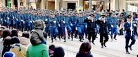 防火防災1700人決意 福井市消防出初め式
