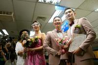 台湾、同性婚法を施行