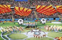 サッカーW杯ロシア大会が開幕