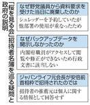 「大型サイド」桜を見る会 「名簿廃棄」疑念再燃も