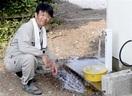 大学生ら雨水使い島に給水システム