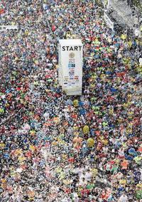 東京マラソンは3万5500人