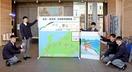 敦賀開業へカウントダウンボード