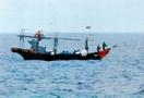 好漁場に北の漁船、命がけの漁