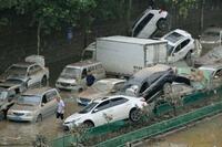中国河南省の豪雨、死者56人に