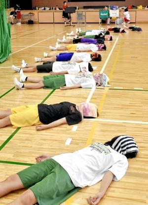 女子バスケ部員に好評の「呼吸法」
