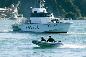 港のテロ防げ、警察や海保…