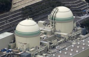 関西電力高浜原発の3号機(左)と4号機=福井県高浜町