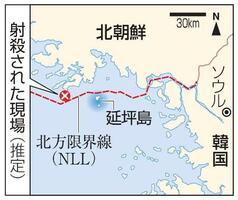 韓国・延坪島、北朝鮮、北方限界線(NLL)