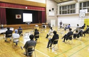 森田、河合地区に新中学建設求める声
