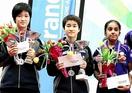 大藤沙月が卓球国際大会で2冠