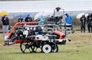 農機自動化へGPS県内全域網羅