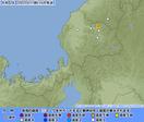 福井県で地震、福井市など震度1