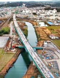 北陸新幹線、橋脚間が日本最長鉄道橋