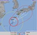 台風24号、福井も猛烈な雨と風