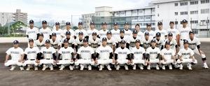 第101回全国高校野球選手権福井大会に出場する北陸