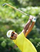 米男子ゴルフ、松山は52位