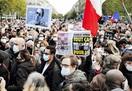 仏・教員殺害テロ 「自由は奪えない」 国内各地…