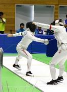 福井国体フェンシング成年男女でV