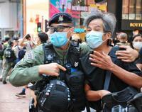 国慶節で香港厳戒、デモ抑え込み