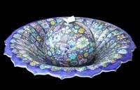 物語の情景陶器文様に 佐賀・陶芸家の葉山有樹さん 20日から西武福井店で個展