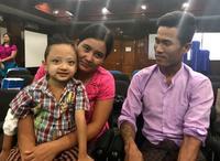 ミャンマー初の小児肝移植