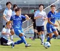 首位の福井ユナイテッドがホームで5発快勝 サッカー北信越リーグ、'05加茂FC下す