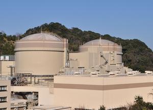 廃炉が認可された関西電力大飯原発1,2号機=福井県おおい町